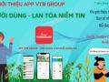 Chương trình giới thiệu người dùng Ứng dụng VTB GROUP - Mảng Nông Nghiệp
