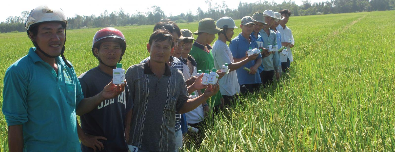 Wokozim đã được sử dụng trên 40 loại cây trồng và hơn 20 quốc gia trên thế giới