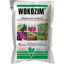 - Phân bón lá hữu cơ sinh học Wokozim