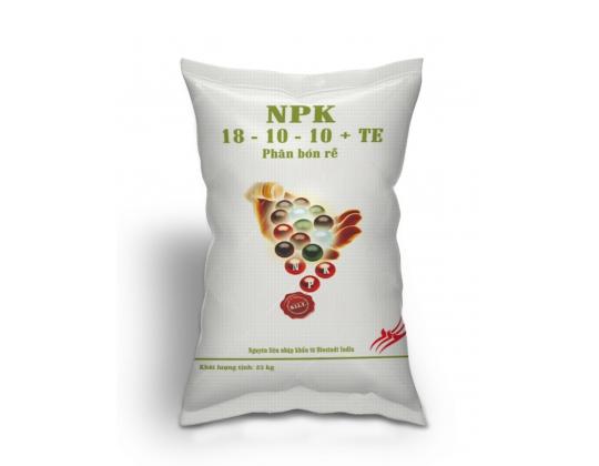 NPK 18-10-10 + TE (4 MÀU)