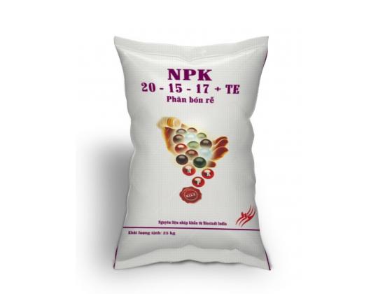 NPK 20-15-17 + TE (4 MÀU)