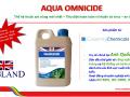 Aqua Ominicide - Sản phẩm sát trùng mới, tiêu diệt tất cả mầm bệnh trong ao nuôi thủy sản
